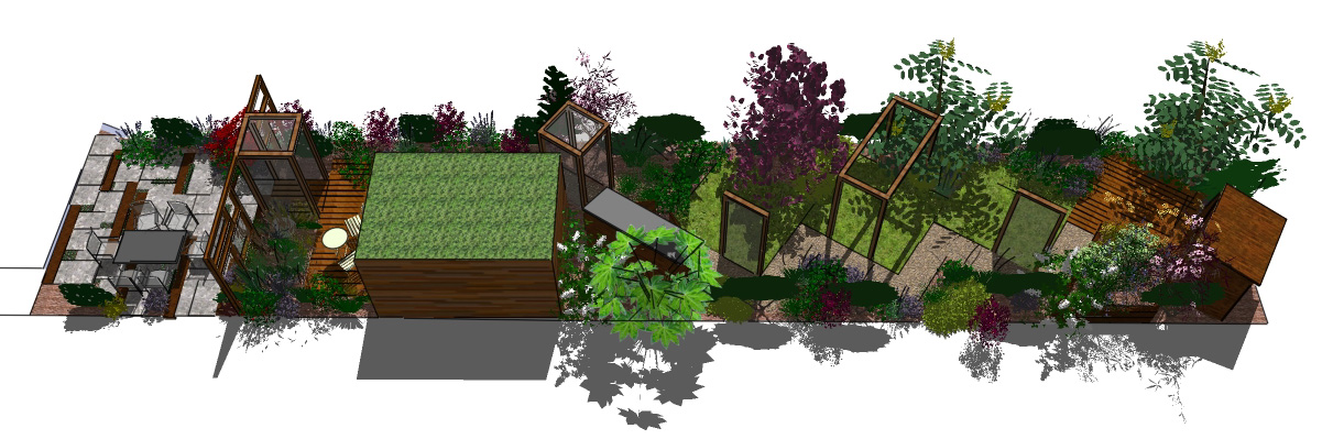London Garden Design Stanmore Taking A Different Path Earth Designs
