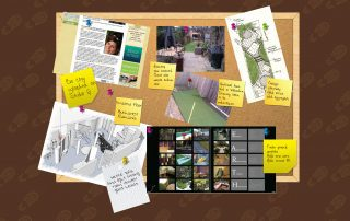 London Garden Design Diary Noteboard Week 1 2012