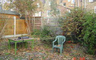 Walthamstow Garden before shot