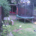 Hackney Garden before