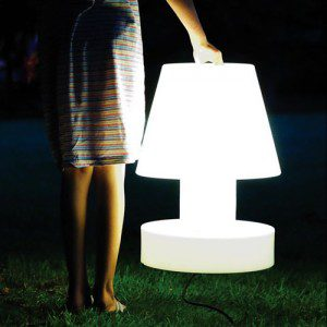 Funky portable light by Bloom Design
