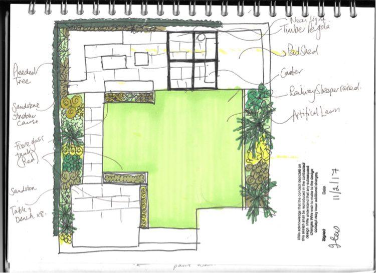 The Leigh-on-Sea garden designer proposal