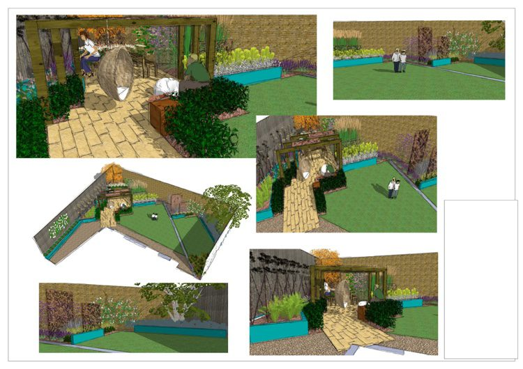 Chelmsford Garden Designer Need For Our Very Shallow Wide Plot Earth Designs