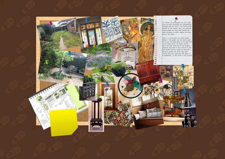 strong influences from Kandinsky , Art Nouveau and Macintosh