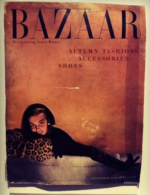 Dior cover Harper's Bazaar.