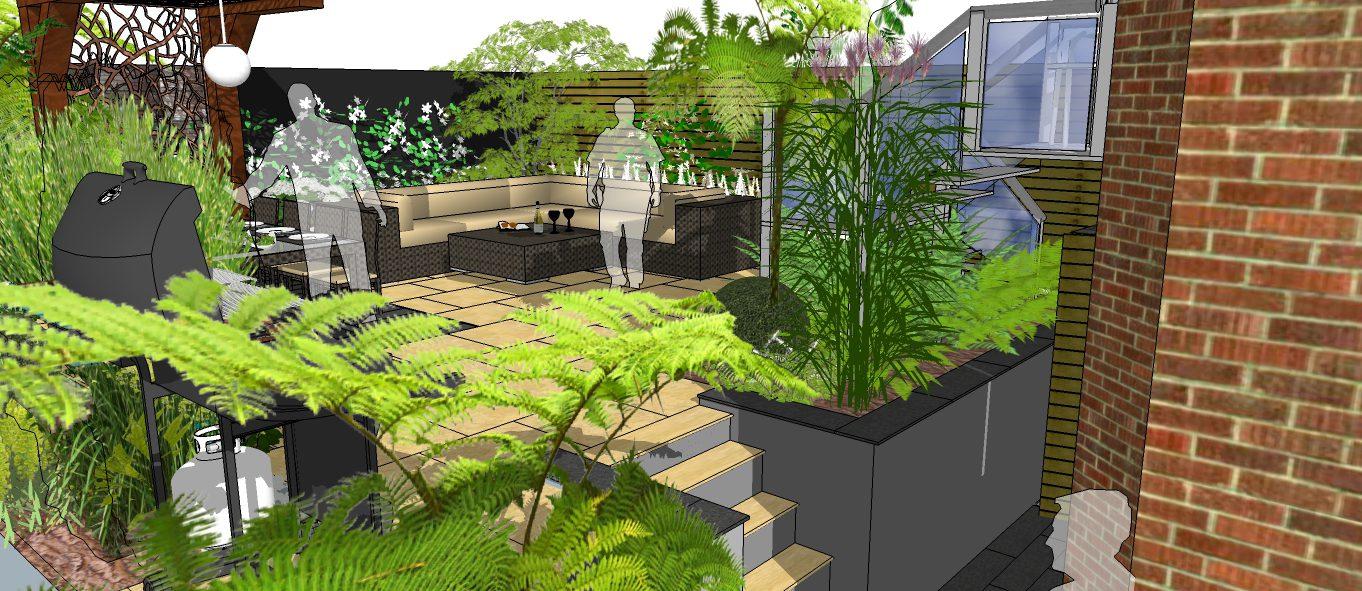 Lewisham garden design