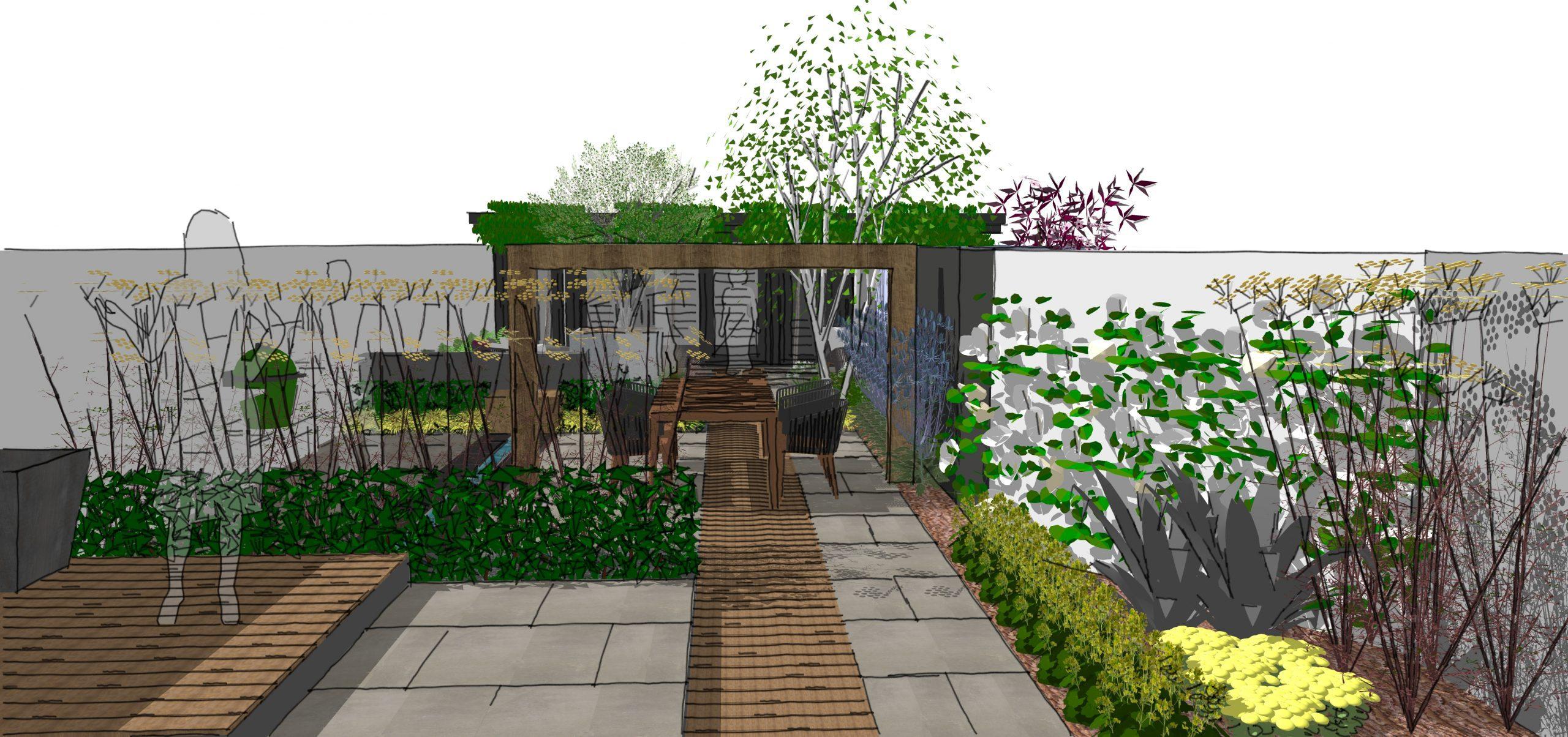 rochford garden modern design