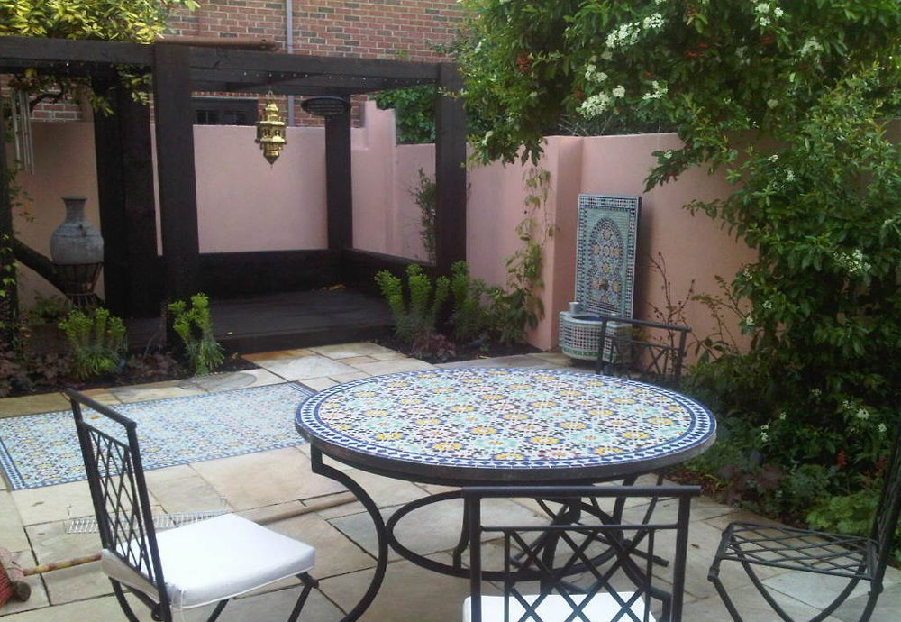 Moroccan Garden Design Greenwich London | 0203 553 7523