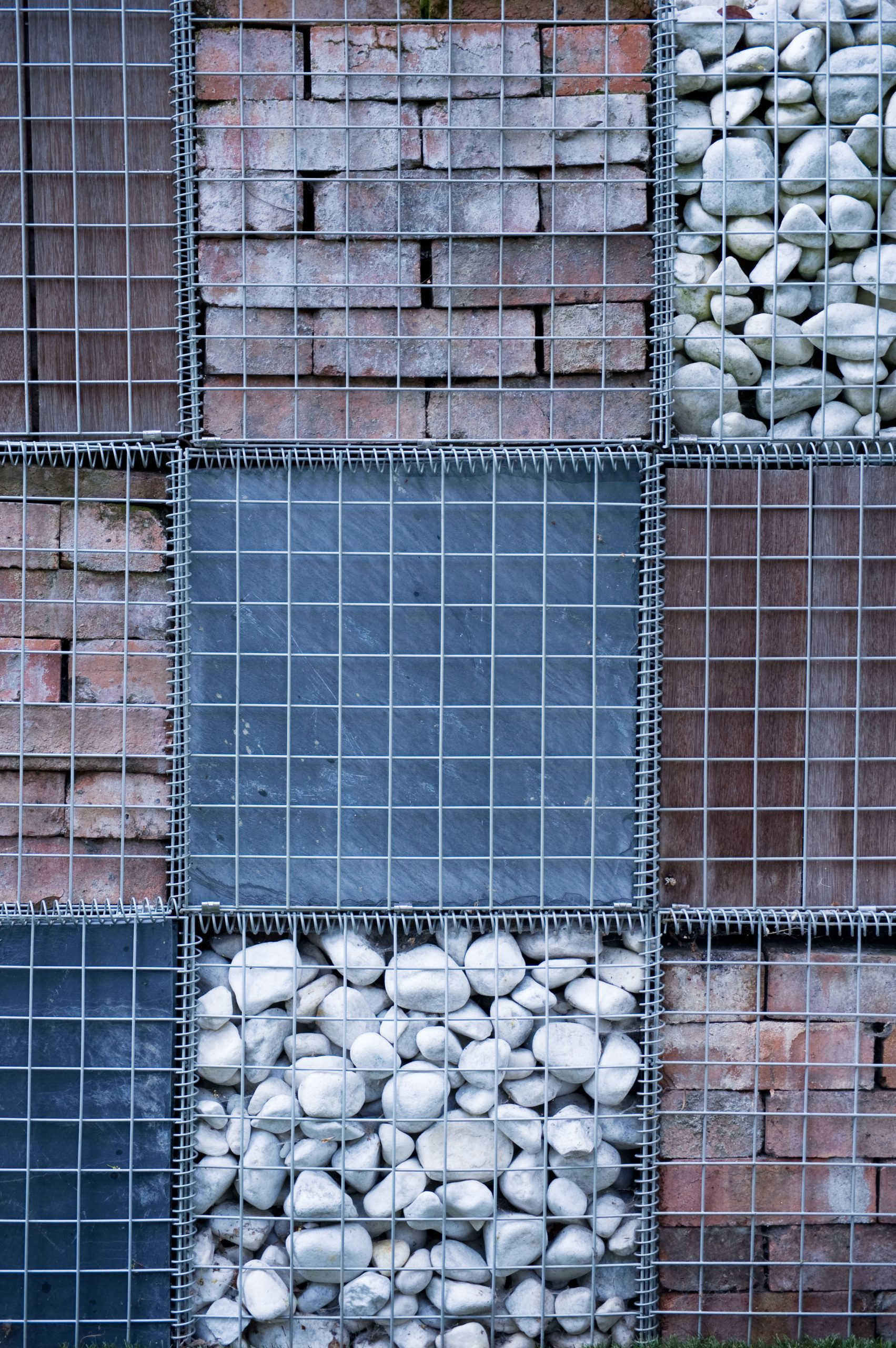 filled gabions