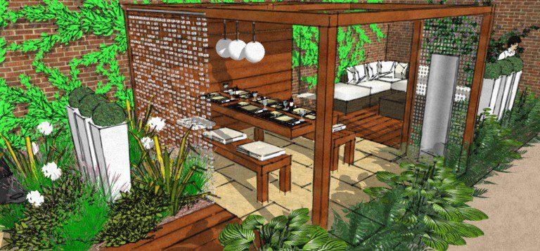 Garden design in Chelmsford