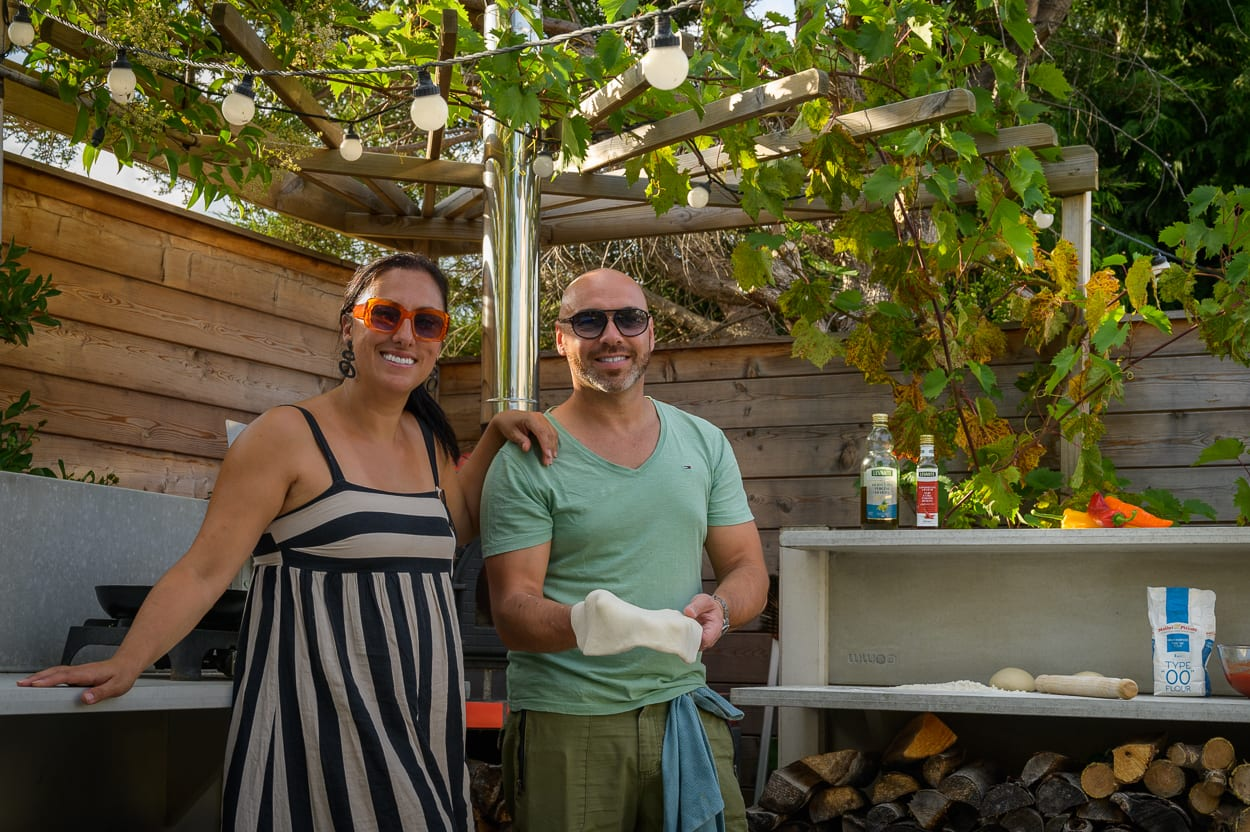 Clio and Marco ED285 - Mediterranean Kitchen Garden Design