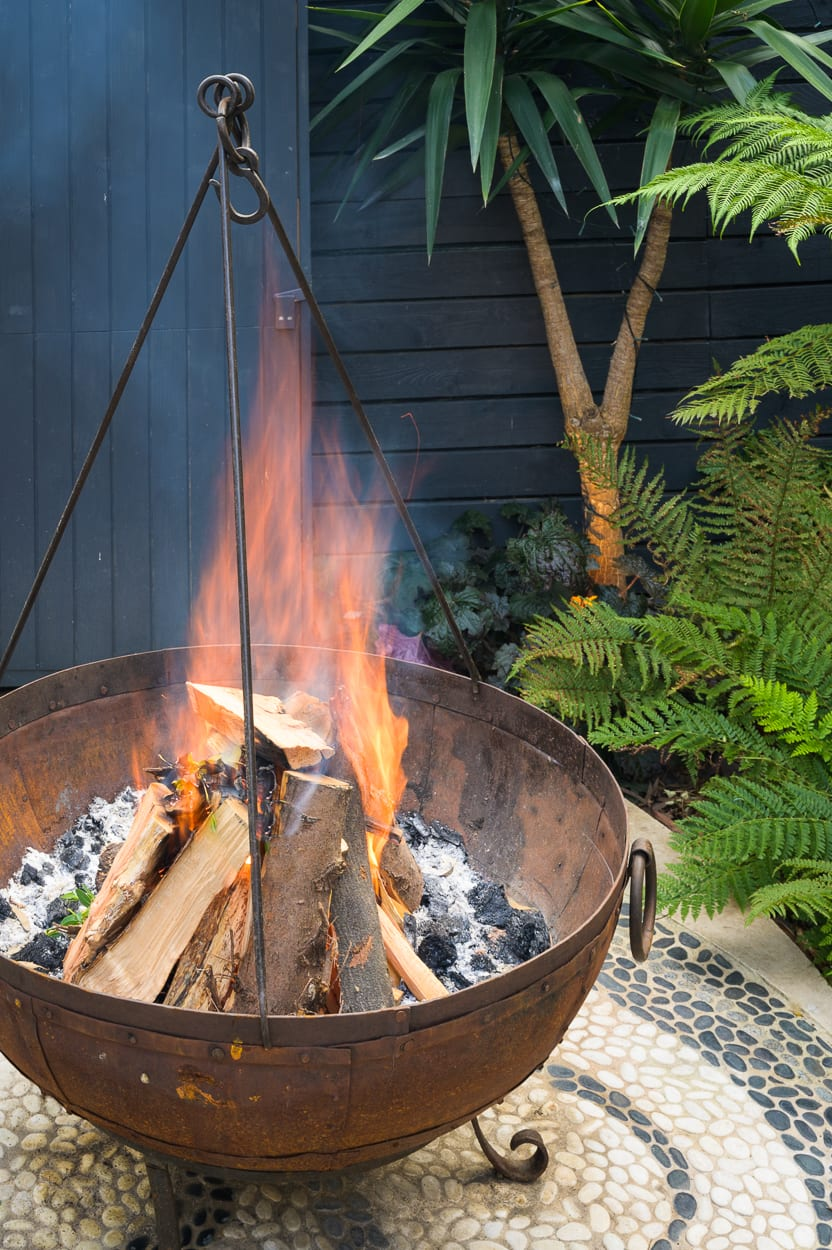 Fire Pit ED293 - Botanical Garden Design Isle of Dogs