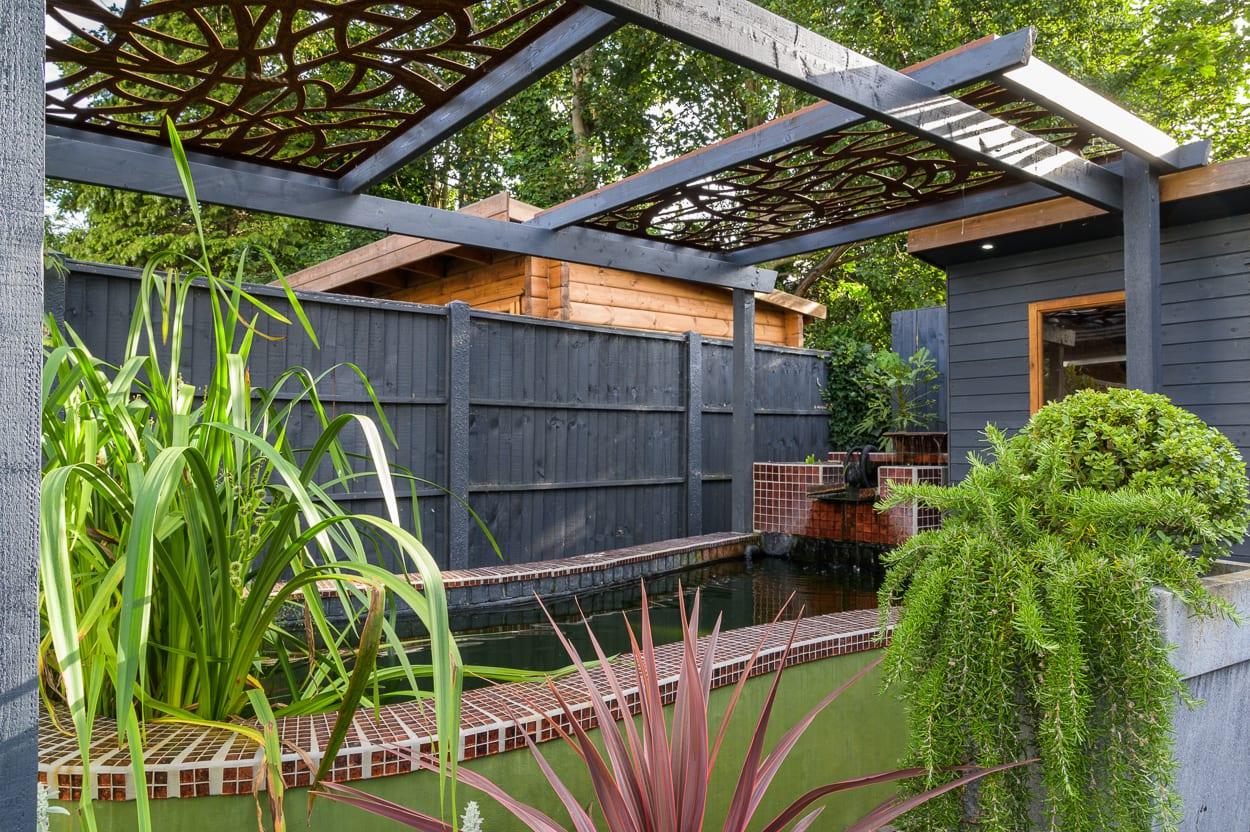 Pergola John & Ant - Essex Urban Garden Design