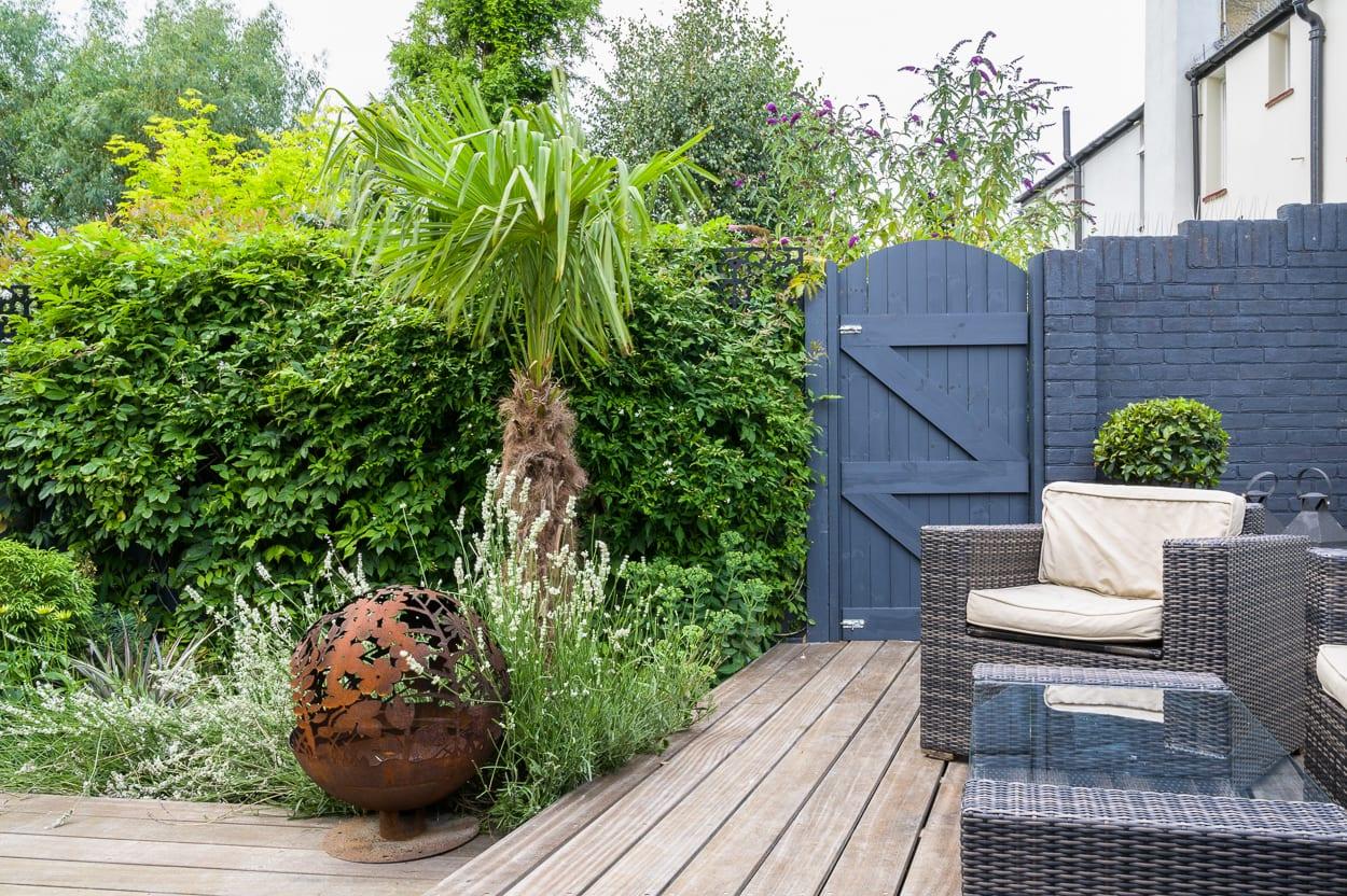 decking and seating John & Ant - Essex Urban Garden Design