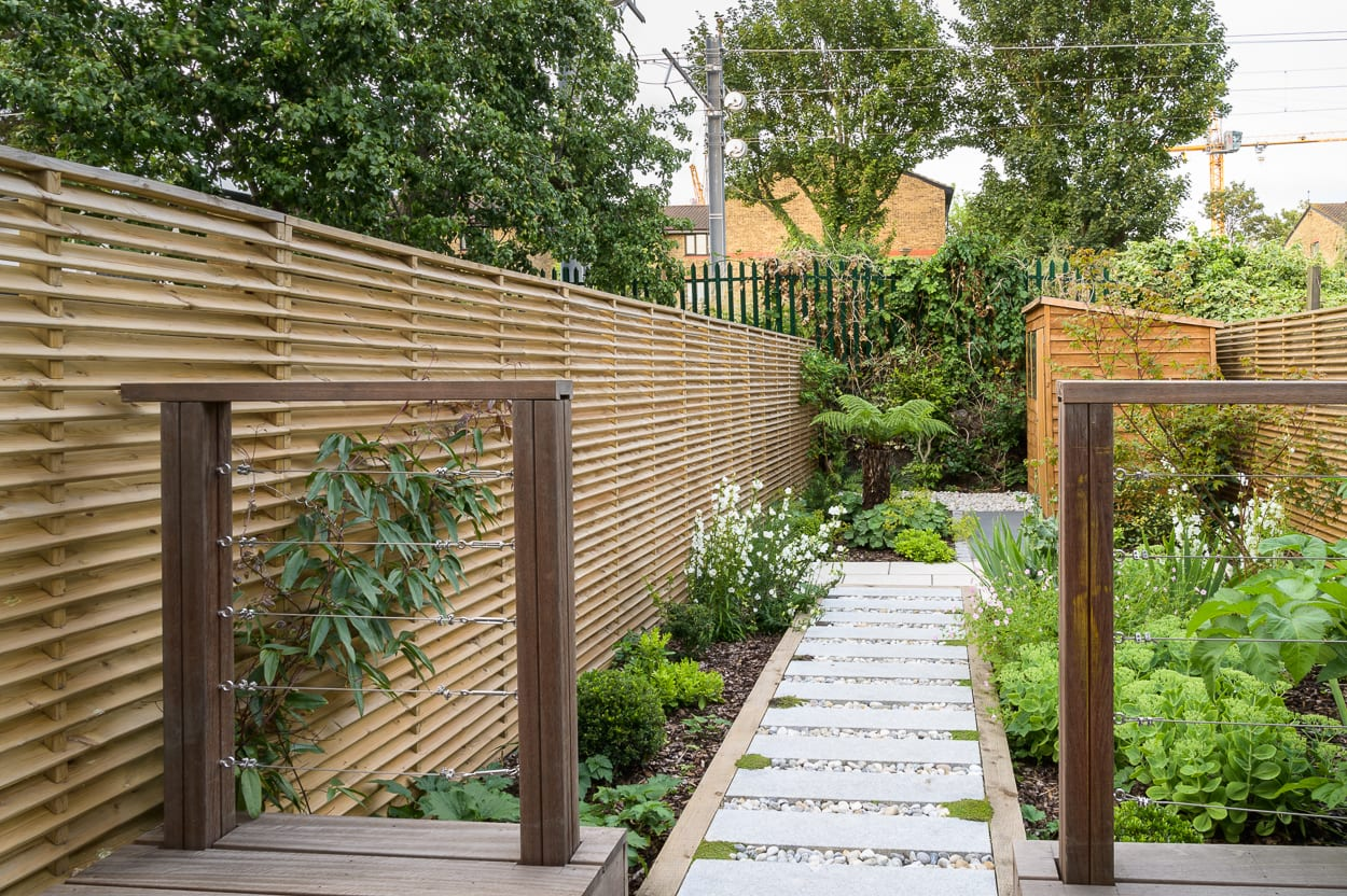 east london garden designer ED286 - Sanctuary Garden Design in London