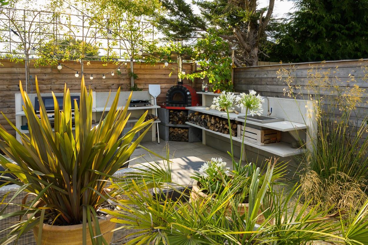 essex garden ED285 - Mediterranean Kitchen Garden Design