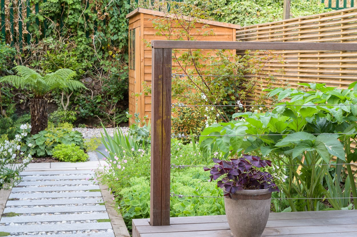 garden landscaping east london ED286 - Sanctuary Garden Design in London