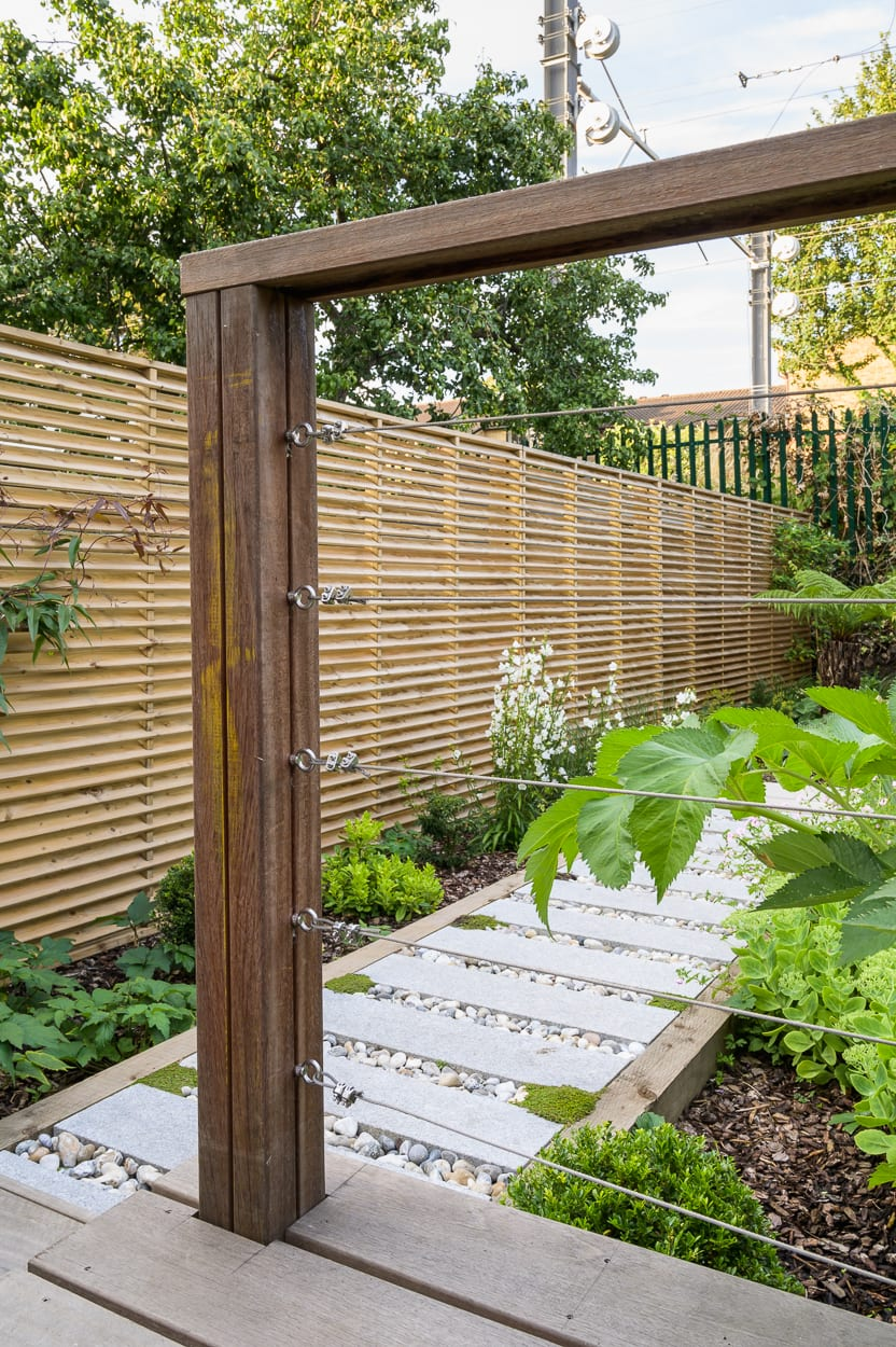 garden railing ideas ED286 - Sanctuary Garden Design in London