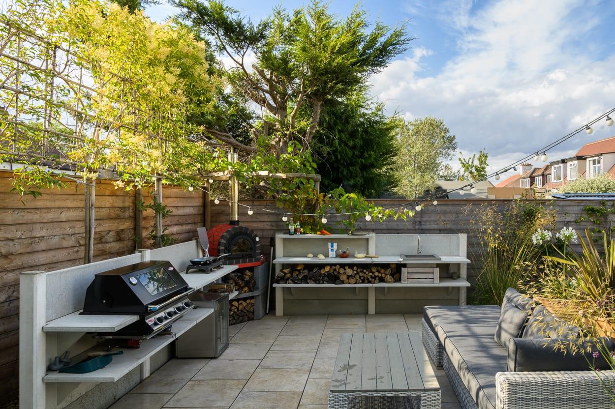 wwoo kitchen ED285 - Mediterranean Kitchen Garden Design